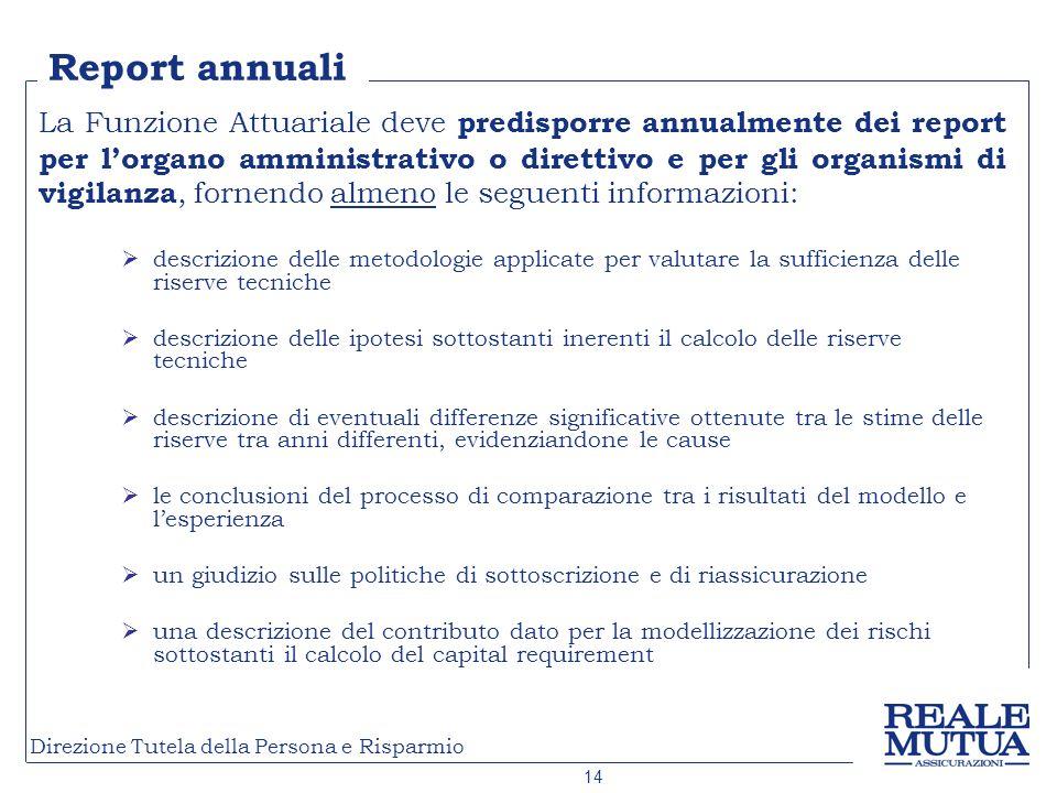 Report annuali