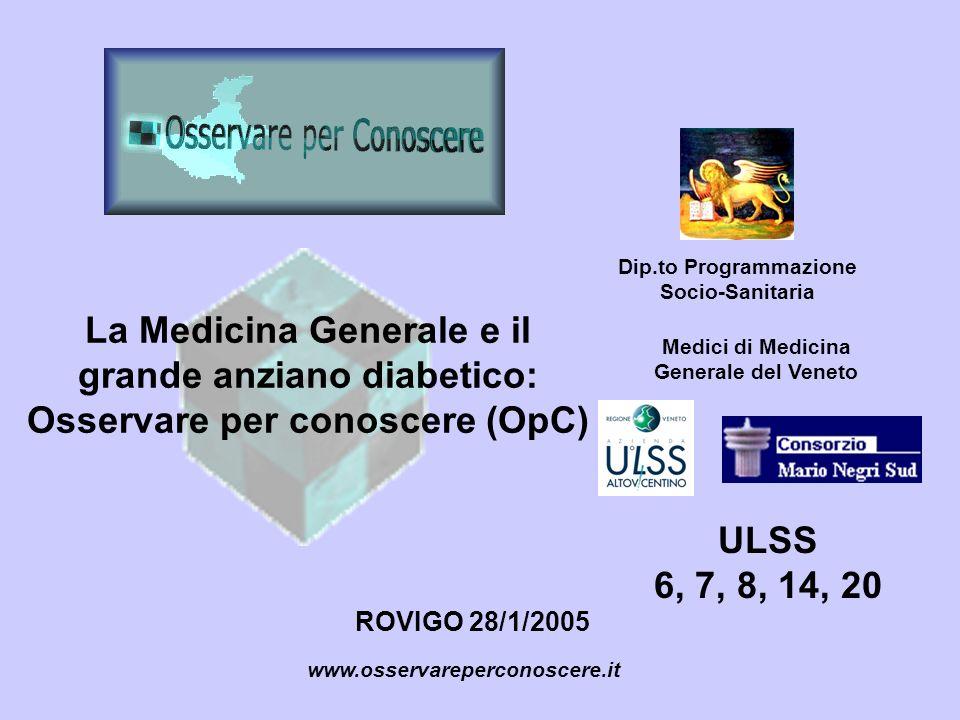 Dip.to Programmazione Socio-Sanitaria