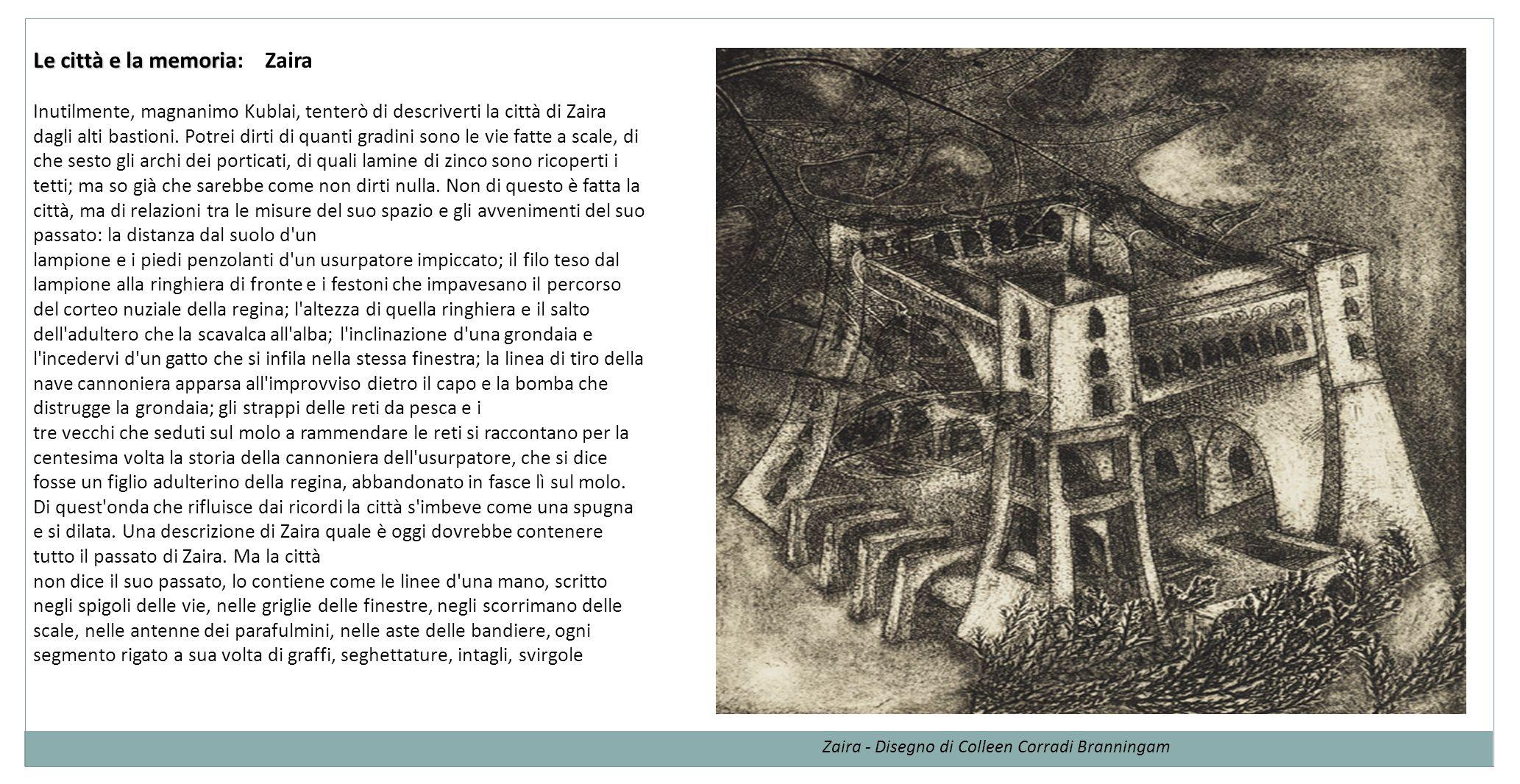 Le città e la memoria: Zaira