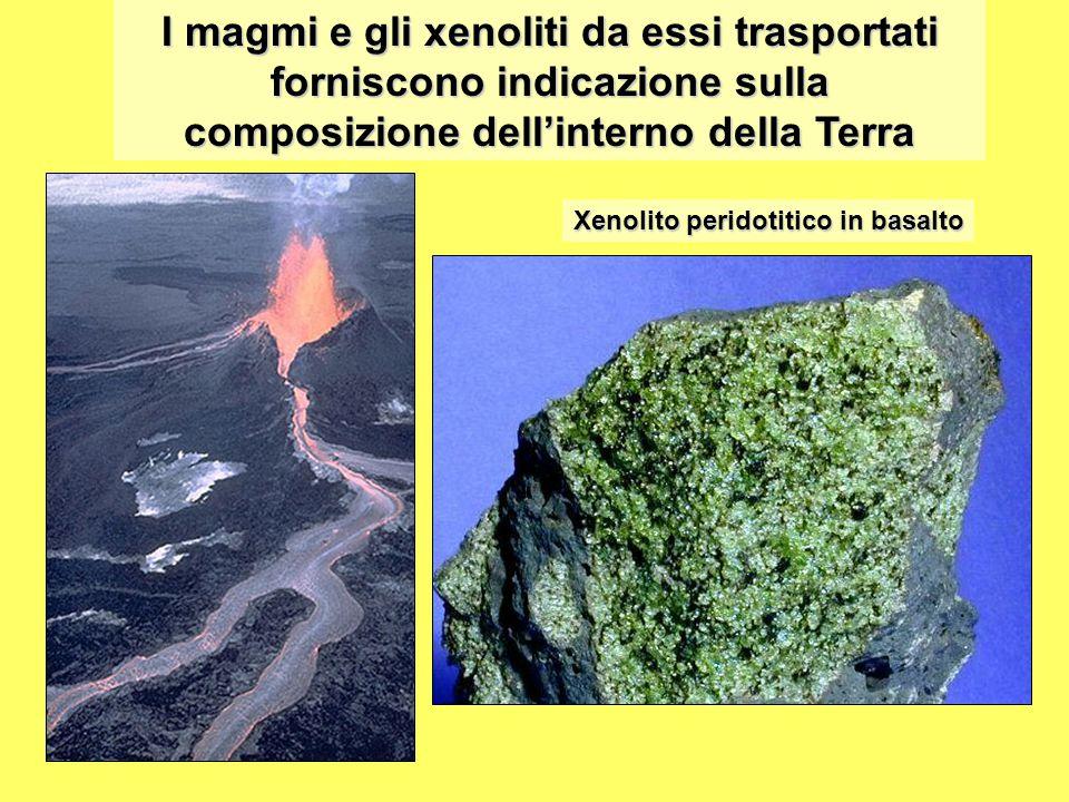 composizione dell'interno della Terra