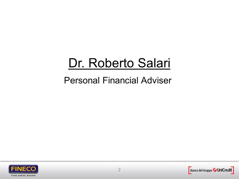 Dr. Roberto Salari Personal Financial Adviser