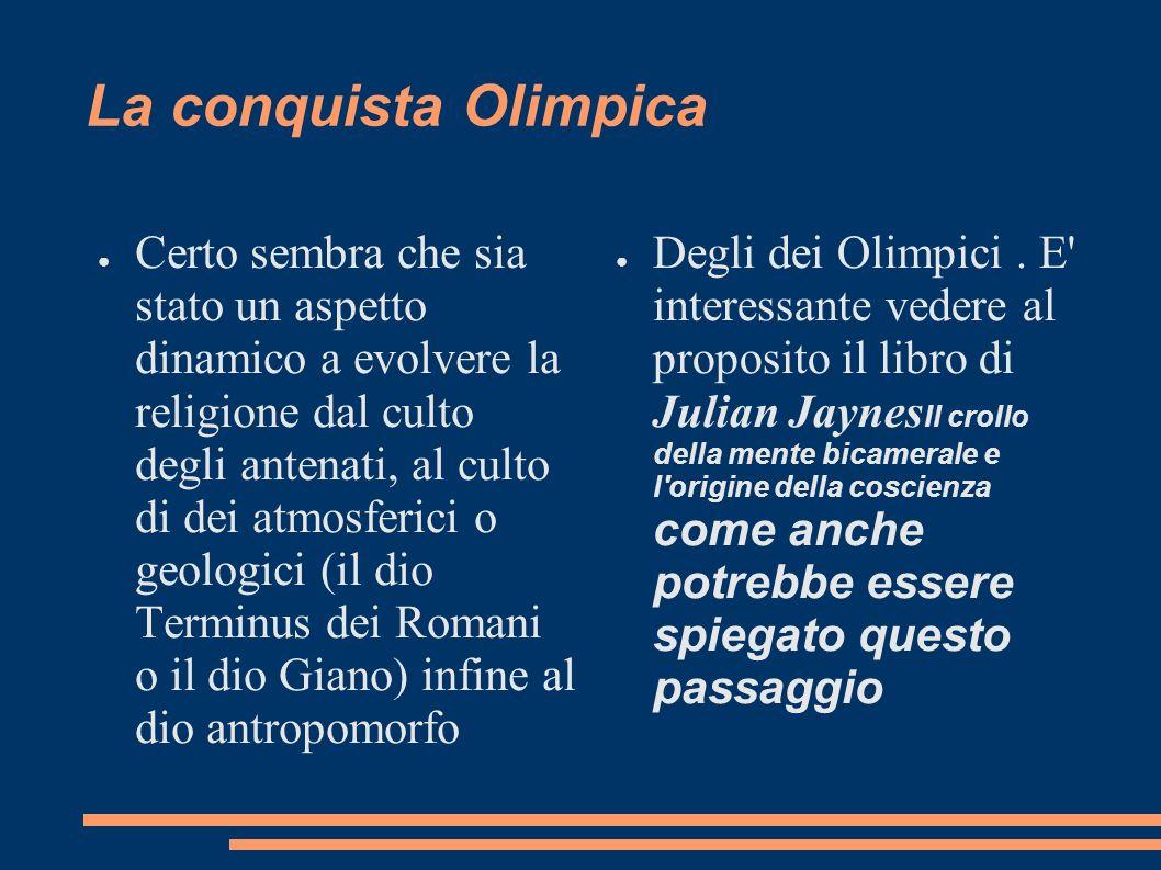 La conquista Olimpica