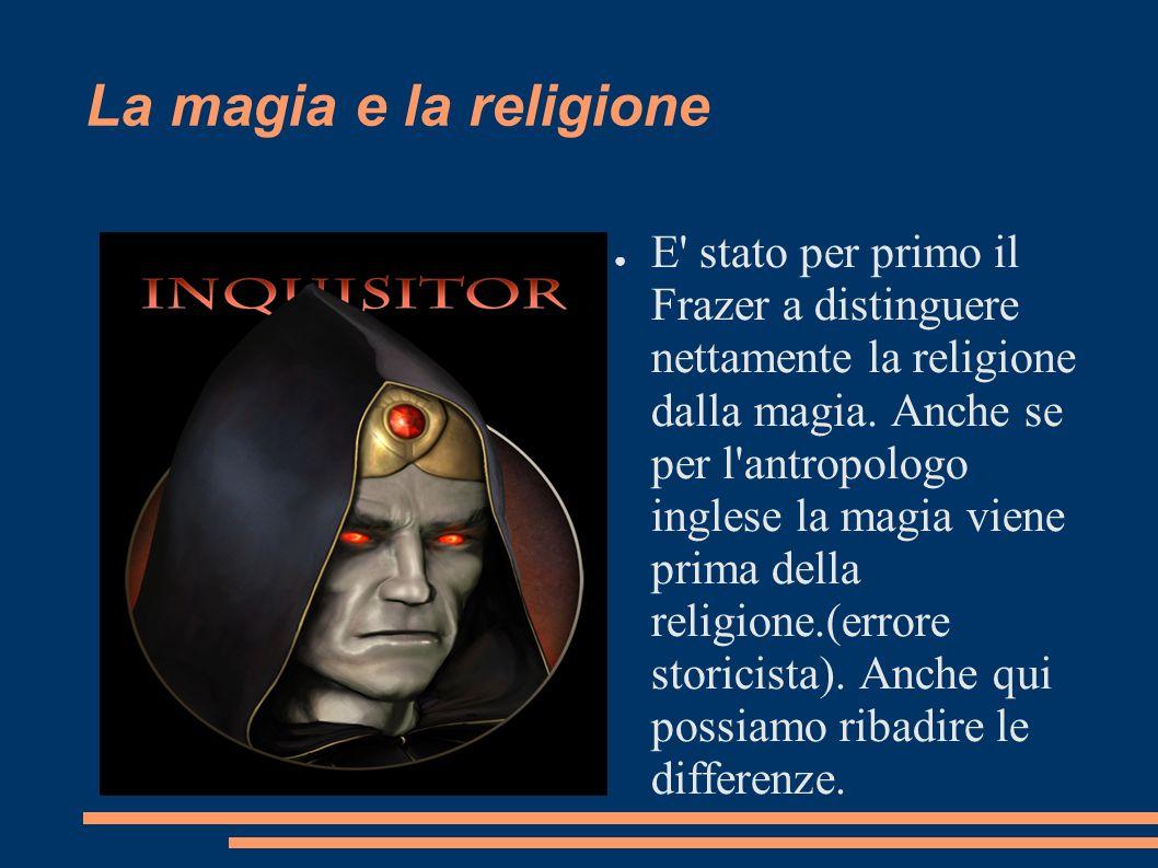 La magia e la religione