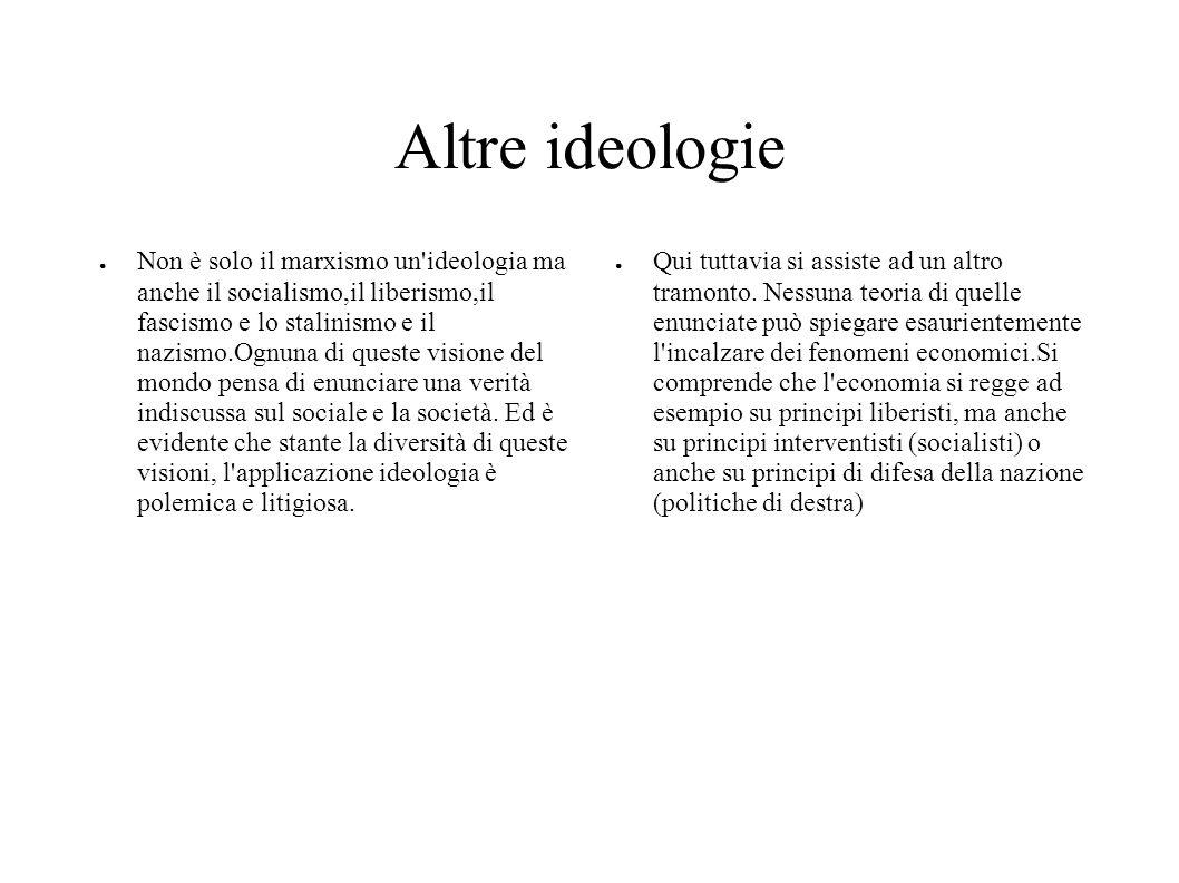 Altre ideologie