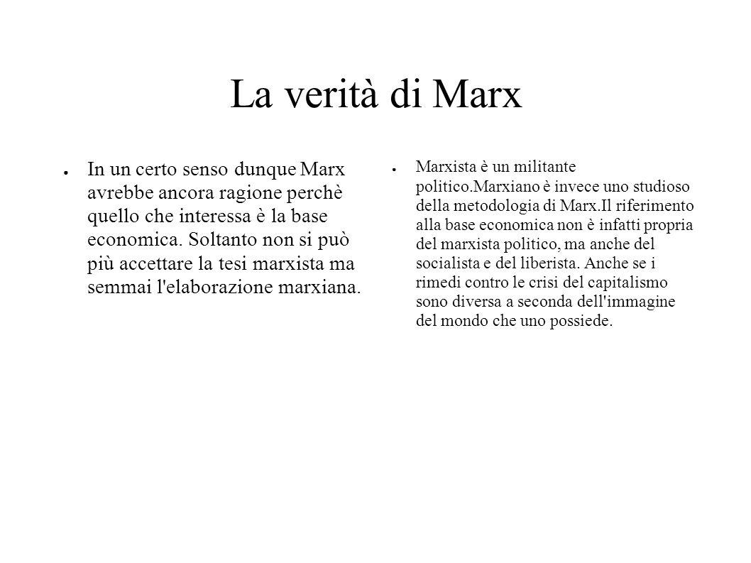 La verità di Marx
