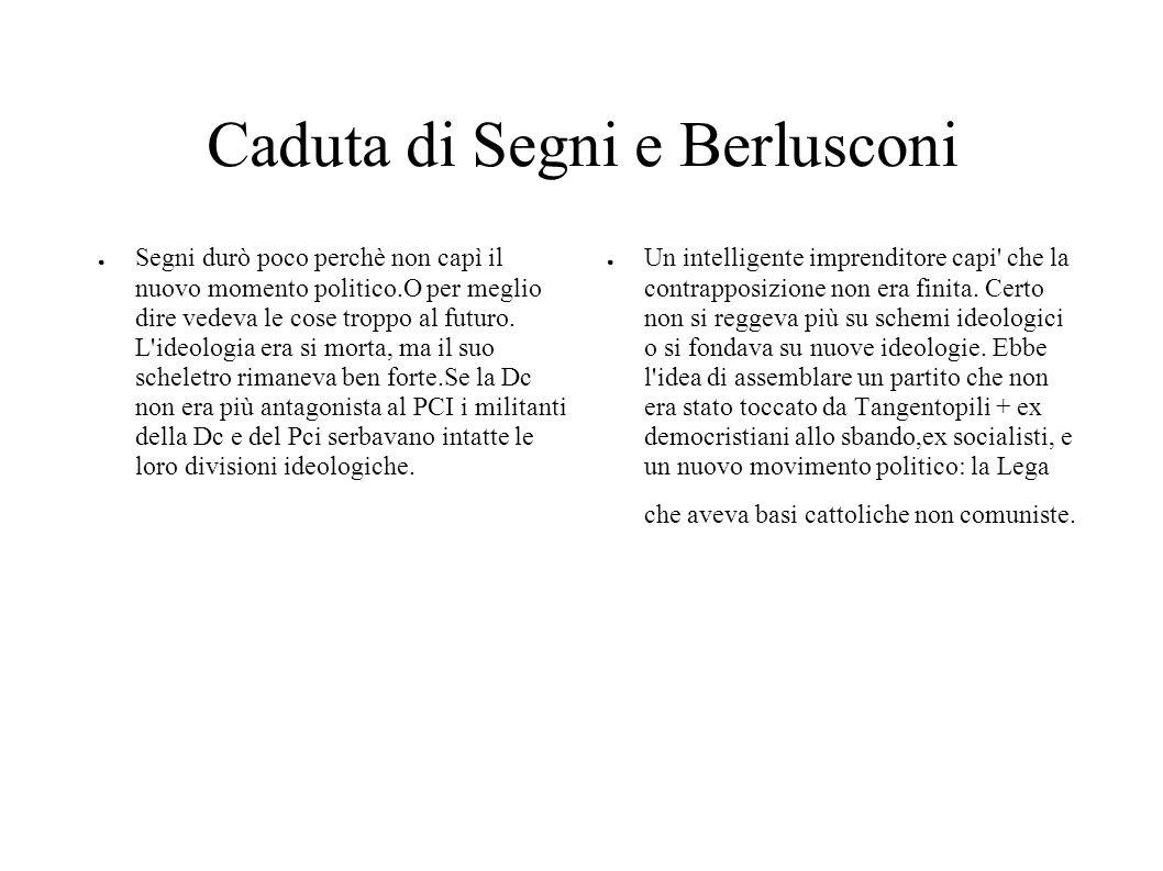 Caduta di Segni e Berlusconi