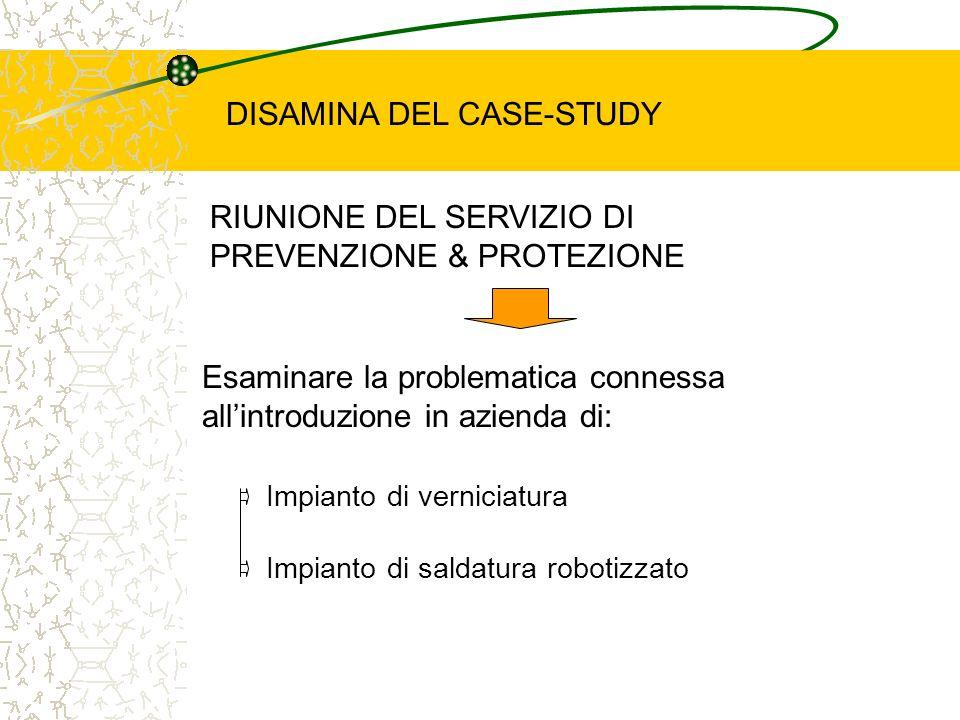DISAMINA DEL CASE-STUDY