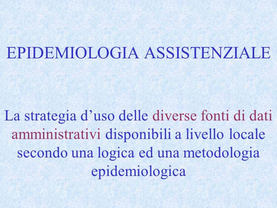 EPIDEMIOLOGIA ASSISTENZIALE