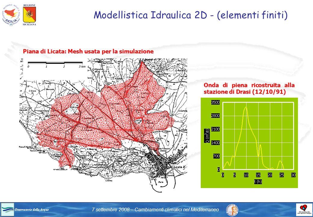 Modellistica Idraulica 2D - (elementi finiti)