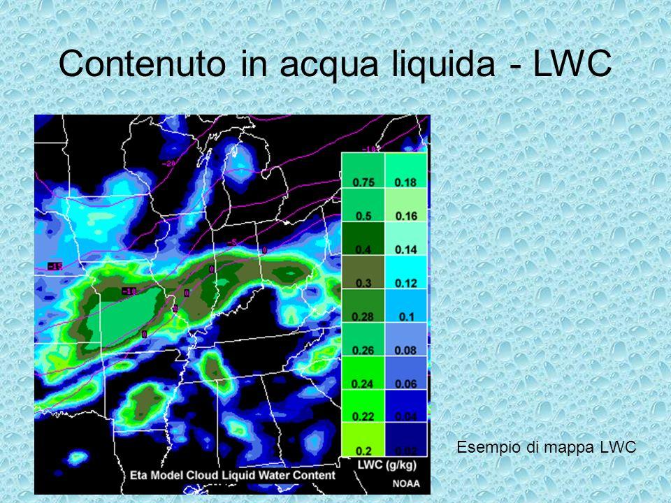 Contenuto in acqua liquida - LWC