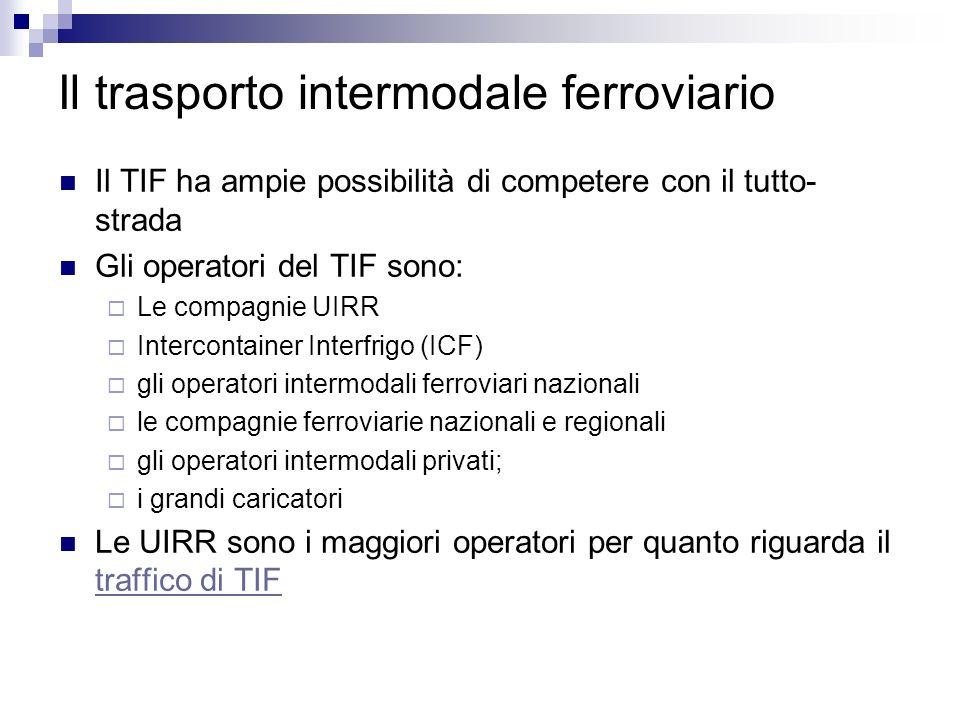Il trasporto intermodale ferroviario