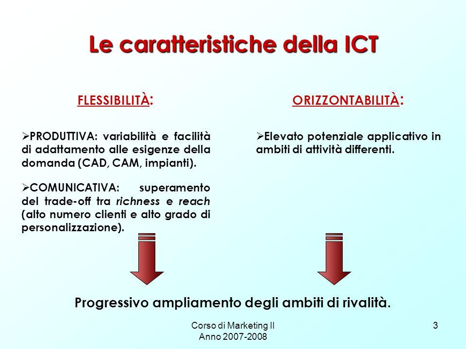 Le caratteristiche della ICT