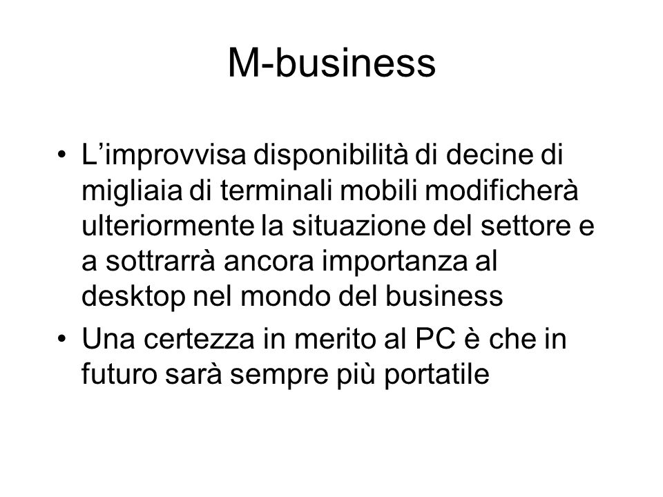 M-business