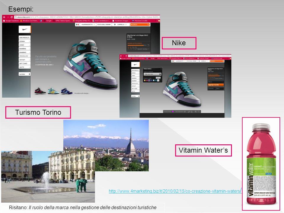 Esempi: Nike Turismo Torino Vitamin Water's