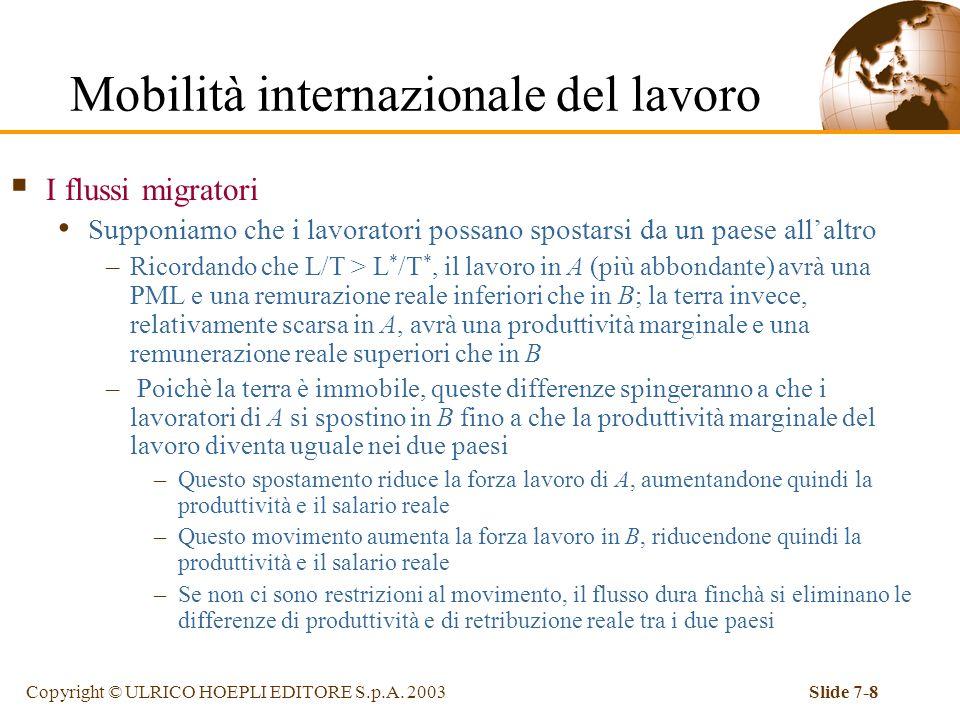 Mobilità internazionale del lavoro