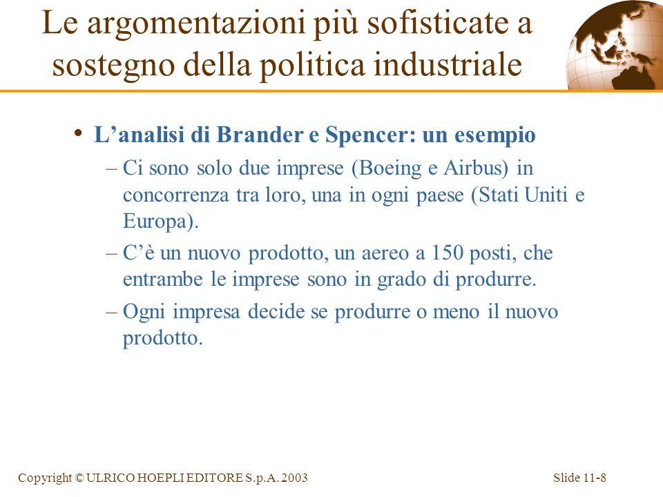 Le argomentazioni più sofisticate a sostegno della politica industriale