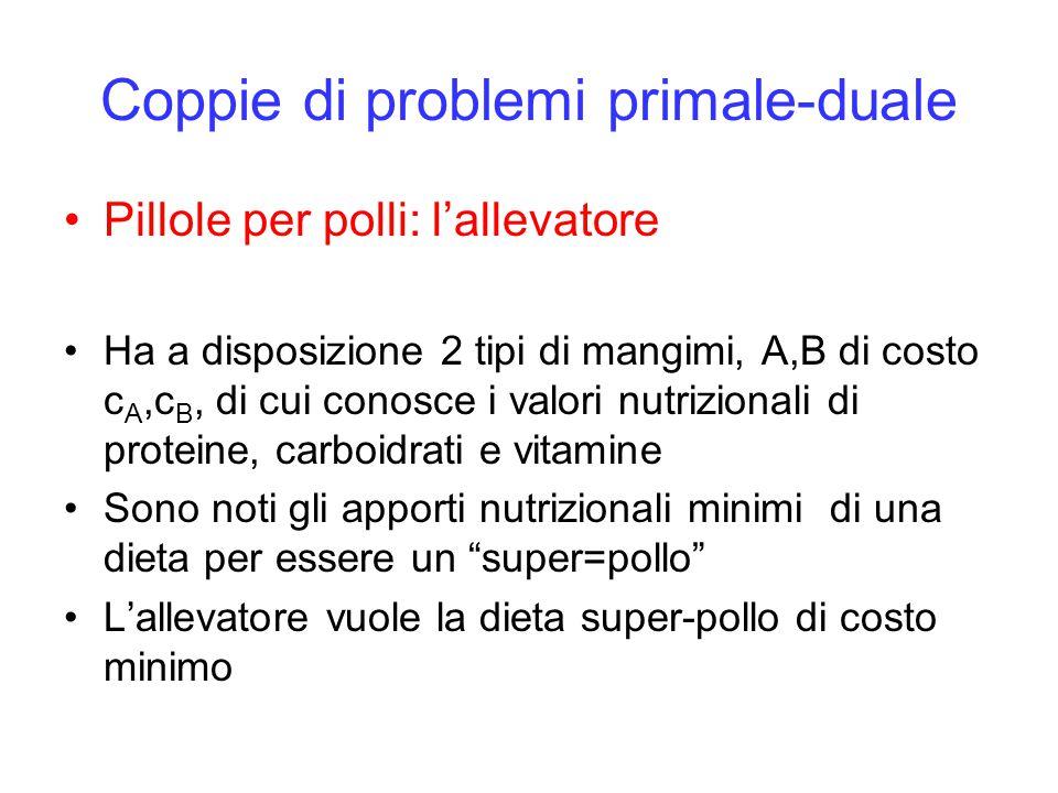 Coppie di problemi primale-duale