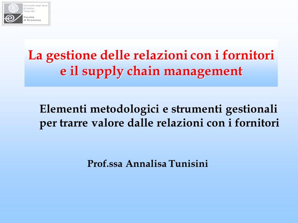 Prof.ssa Annalisa Tunisini