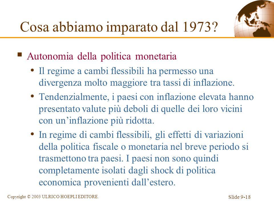 Cosa abbiamo imparato dal 1973