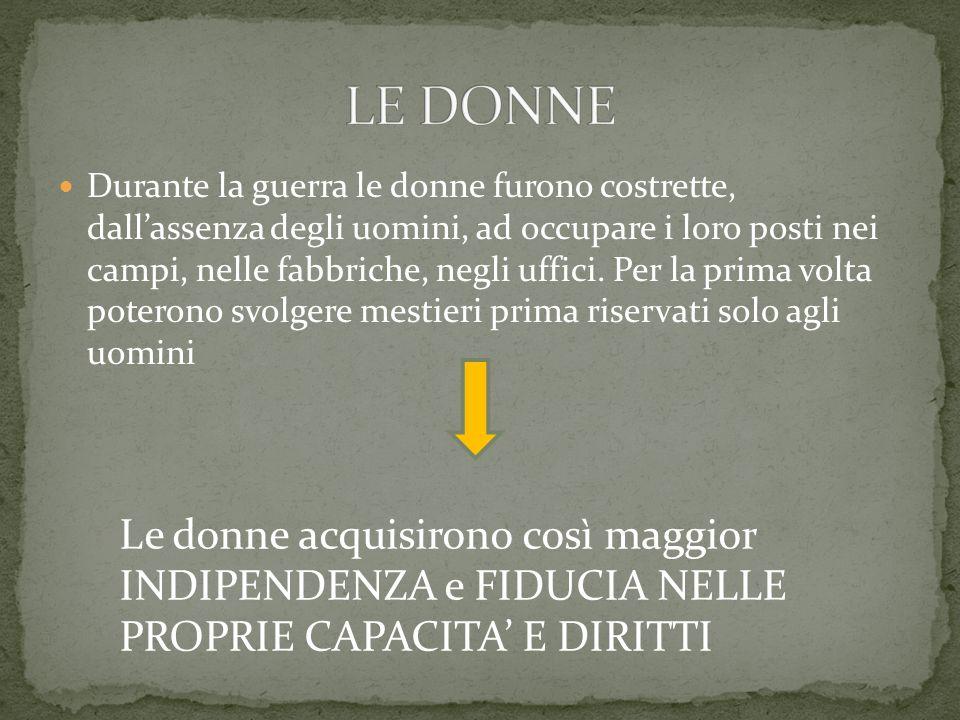 LE DONNE