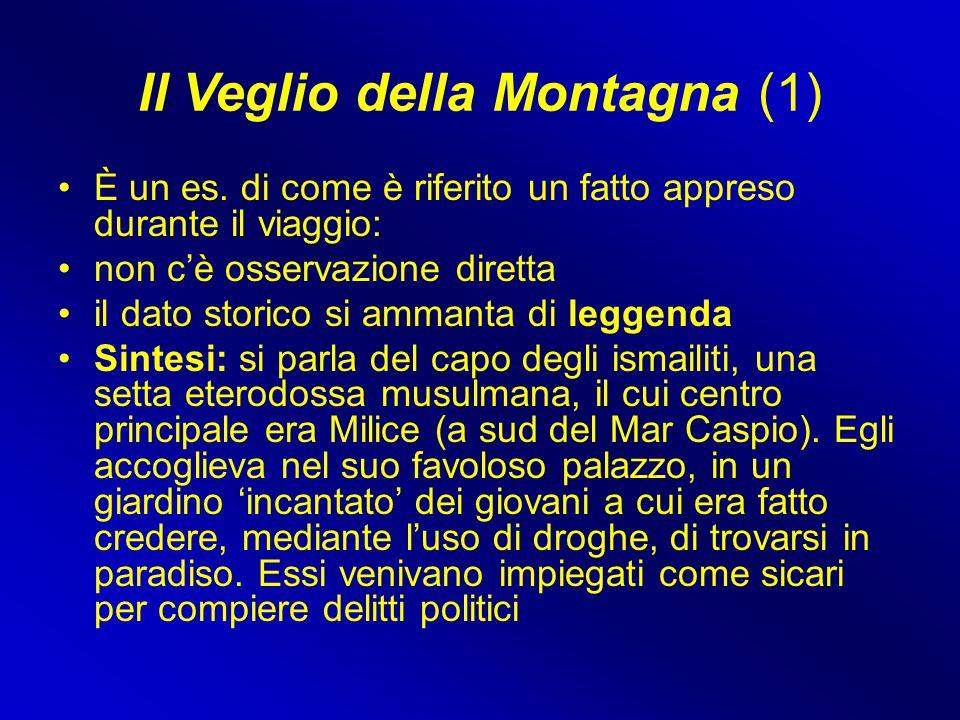 Il Veglio della Montagna (1)