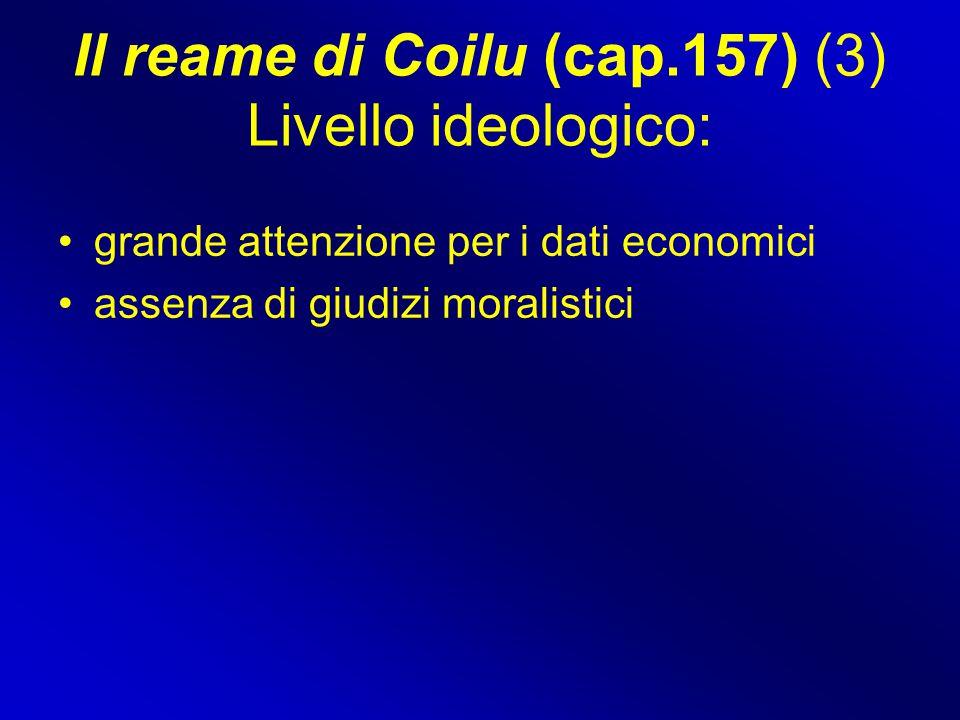 Il reame di Coilu (cap.157) (3) Livello ideologico: