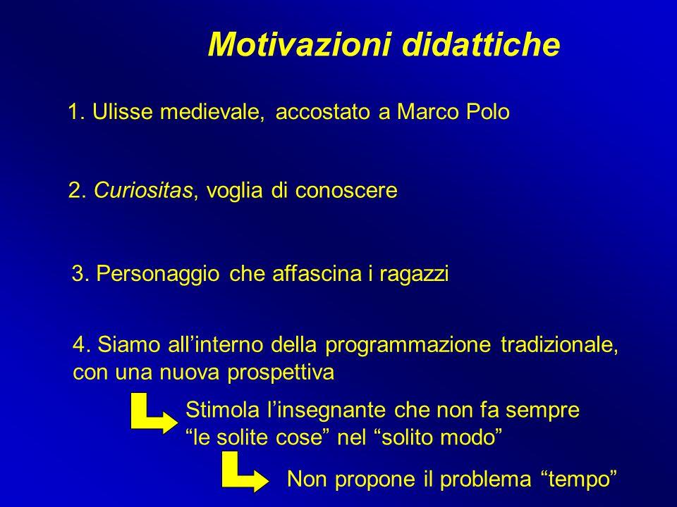 Motivazioni didattiche