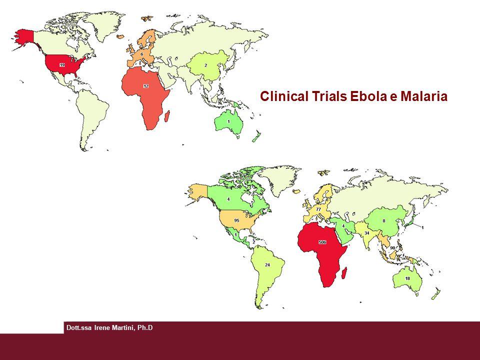 Clinical Trials Ebola e Malaria