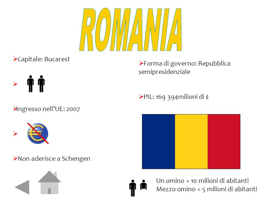 ROMANIA Capitale: Bucarest