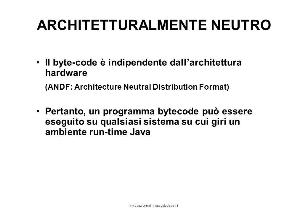 ARCHITETTURALMENTE NEUTRO