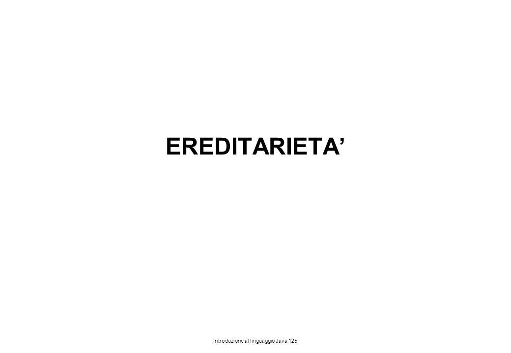 EREDITARIETA'