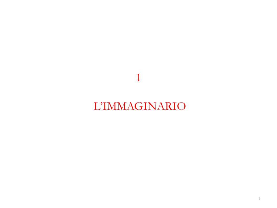 1 L'IMMAGINARIO
