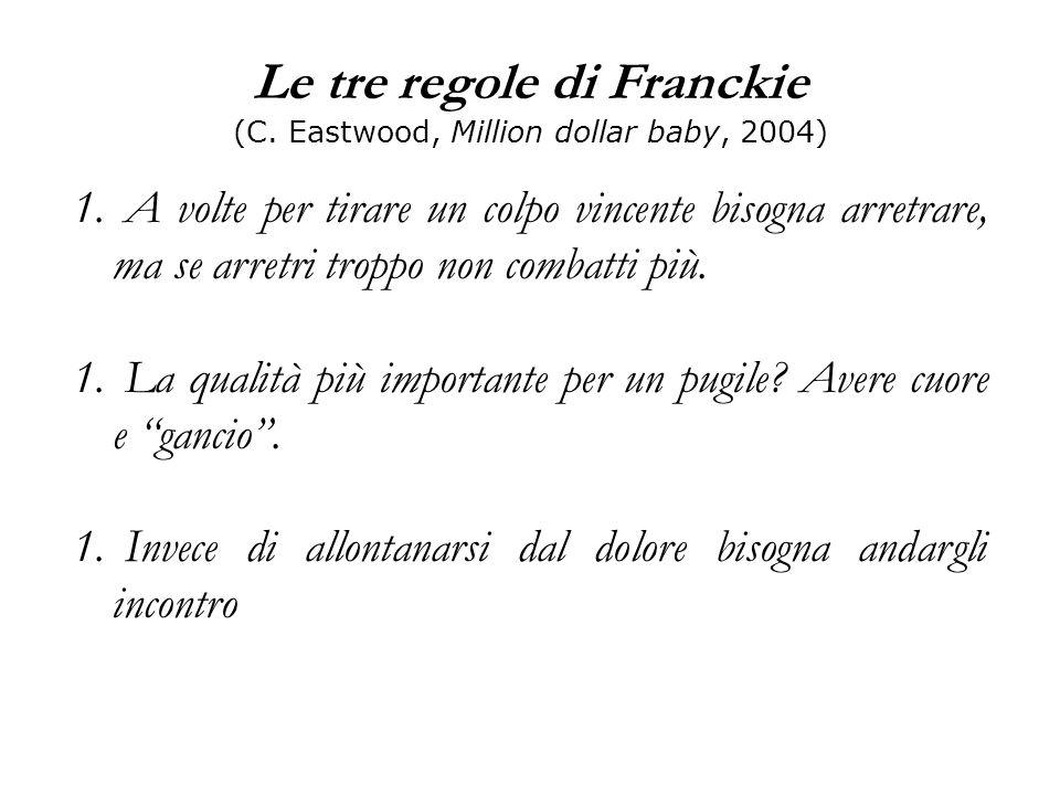 Le tre regole di Franckie