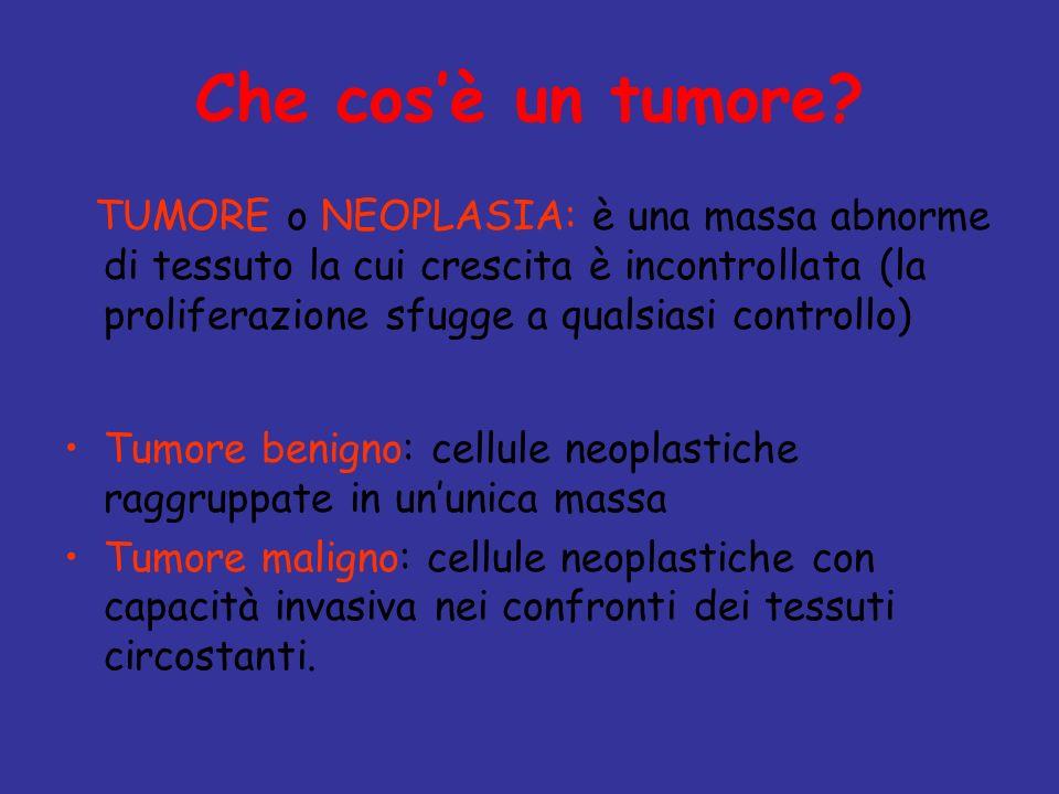 Che cos'è un tumore