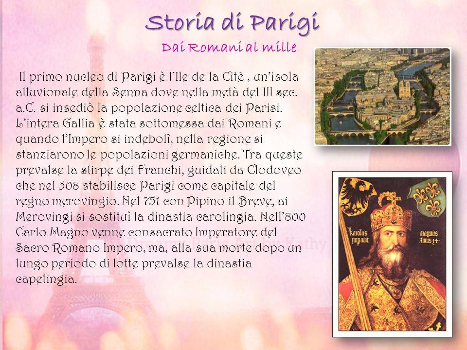 Storia di Parigi Dai Romani al mille
