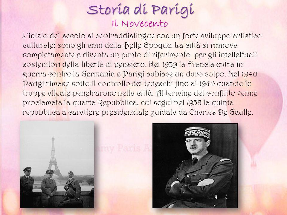 Storia di Parigi Il Novecento
