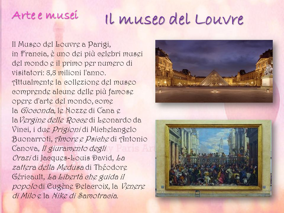 Il museo del Louvre Arte e musei