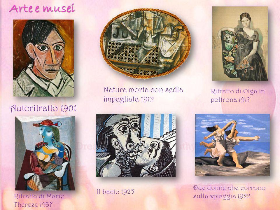 Arte e musei Autoritratto 1901 Natura morta con sedia impagliata 1912