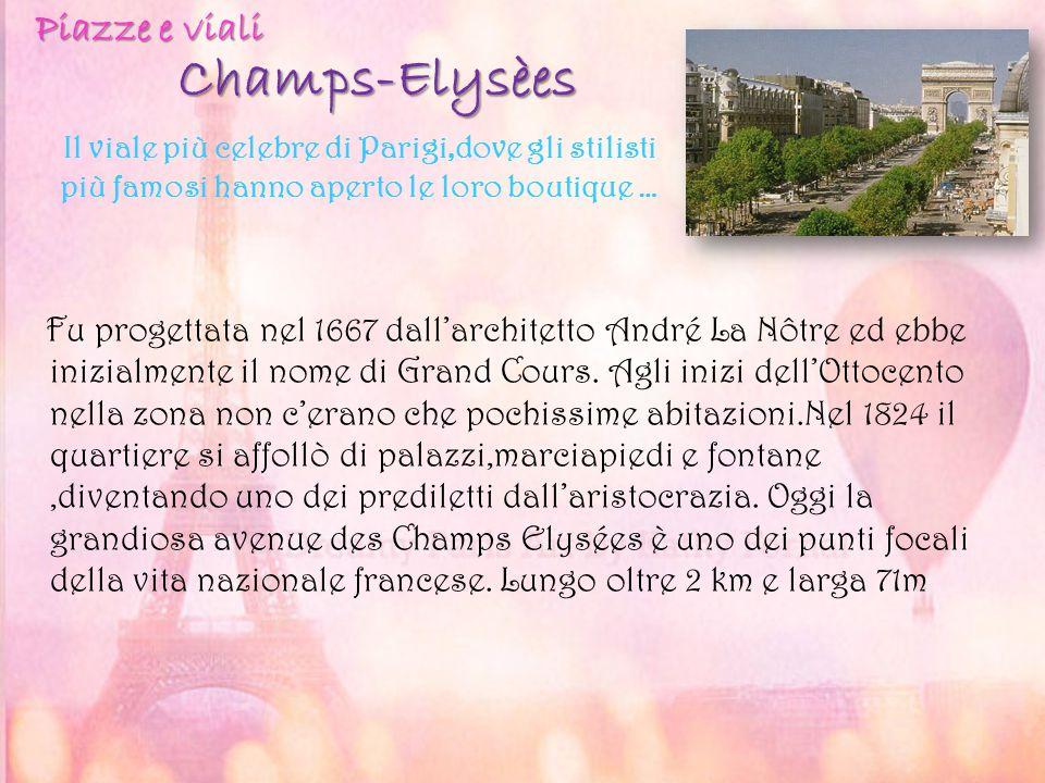 Champs-Elysèes Piazze e viali