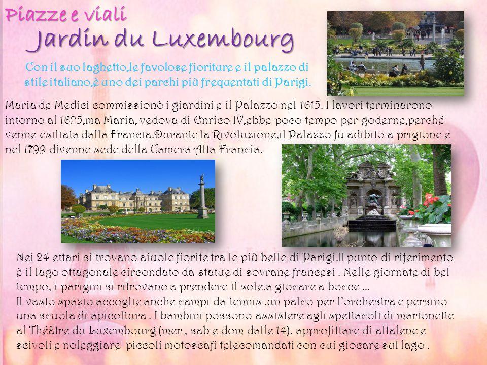 Jardin du Luxembourg Piazze e viali