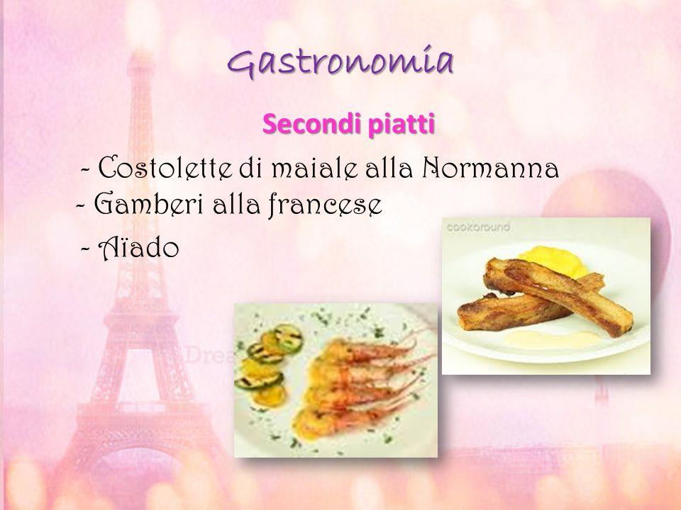 Gastronomia Secondi piatti