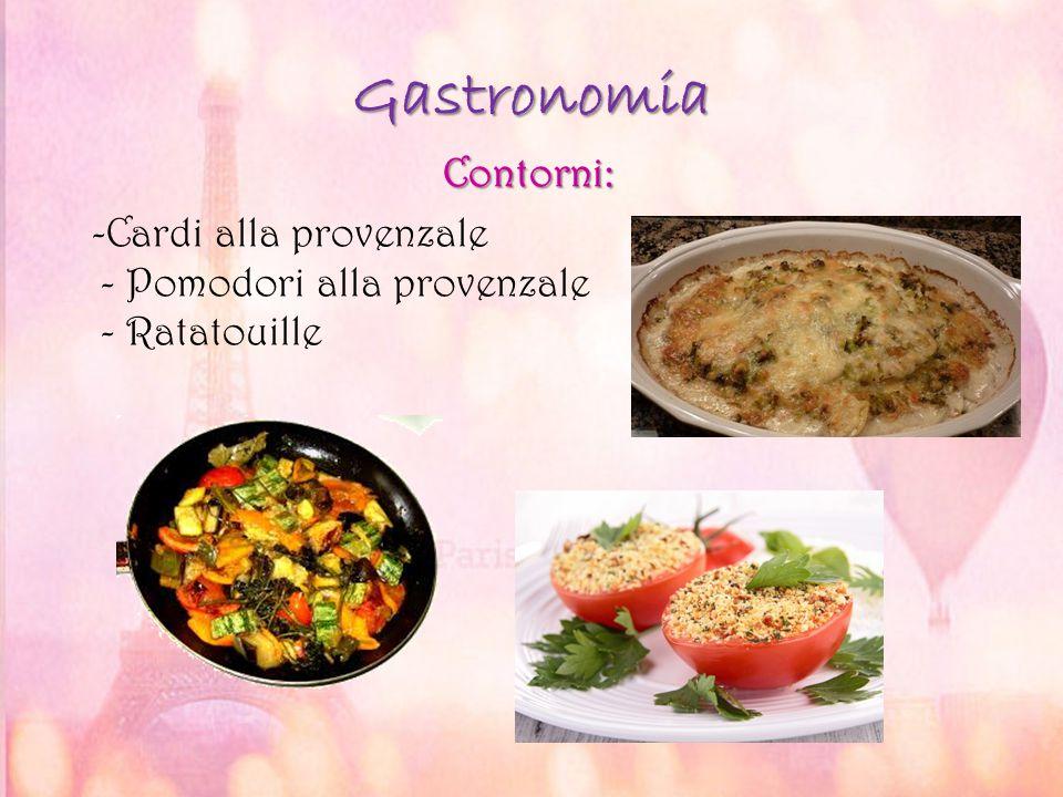Gastronomia Contorni: