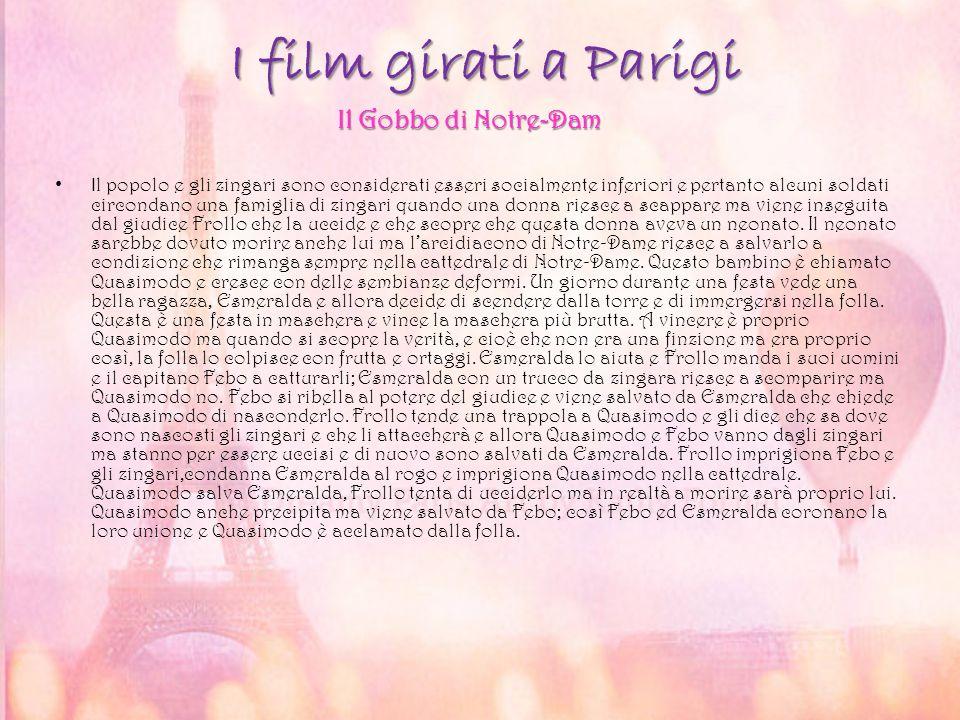 I film girati a Parigi Il Gobbo di Notre-Dam
