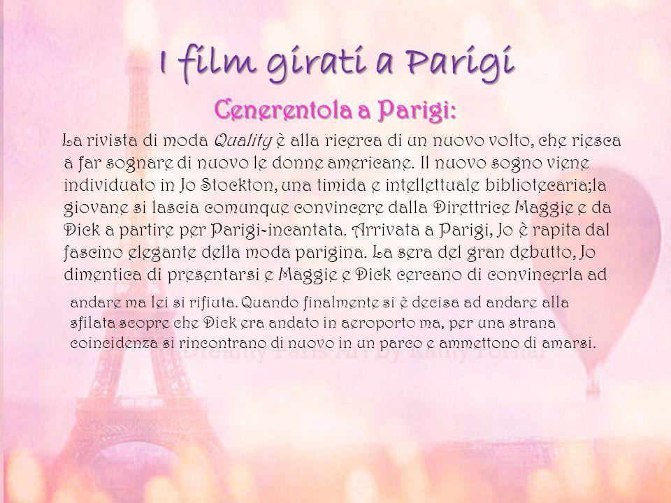 I film girati a Parigi Cenerentola a Parigi: