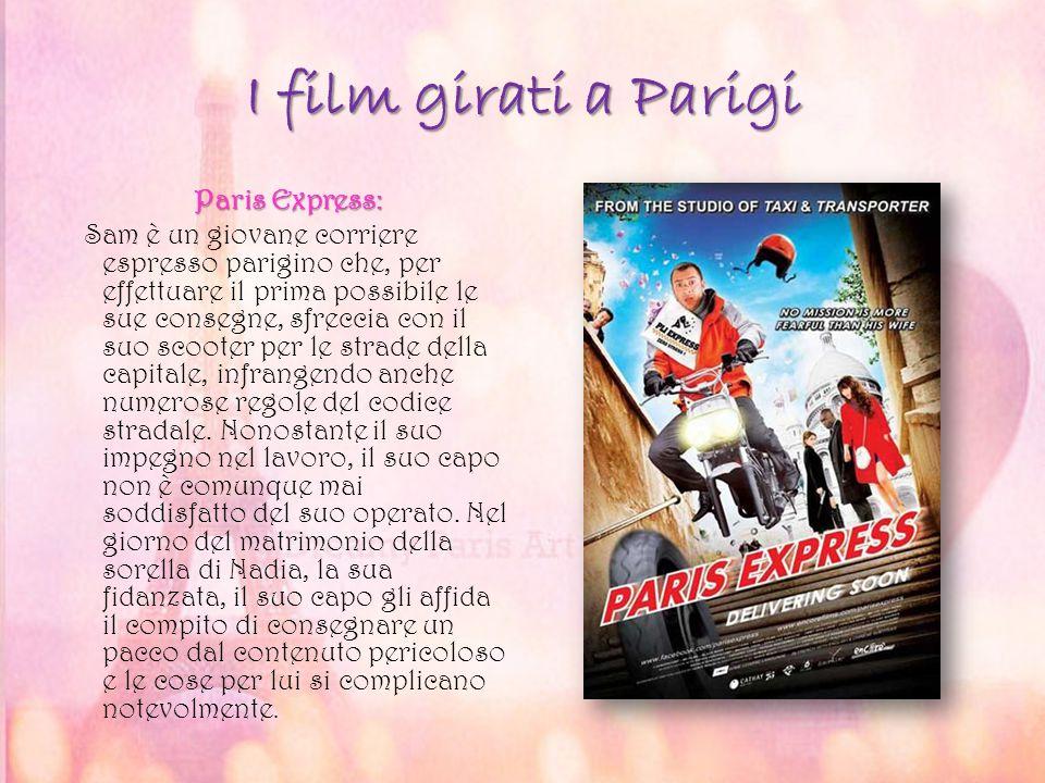 I film girati a Parigi