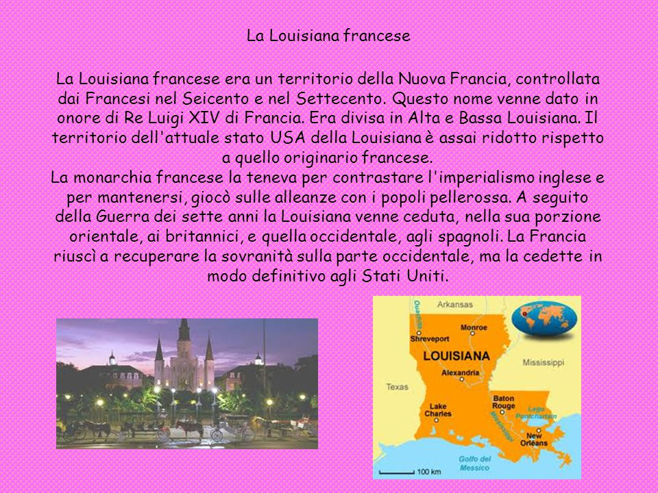 La Louisiana francese