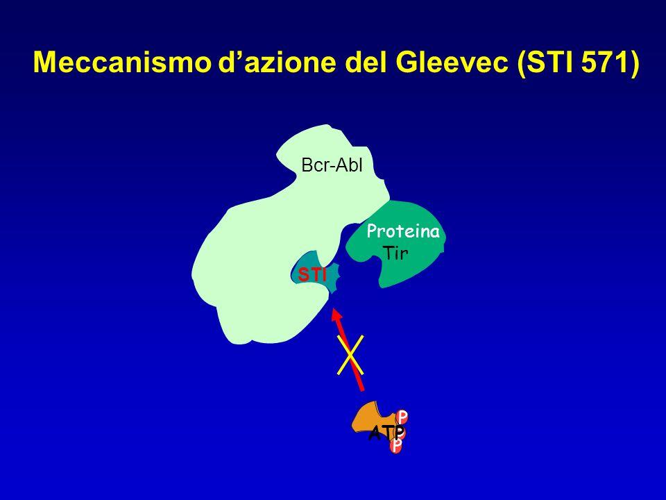 Meccanismo d'azione del Gleevec (STI 571)