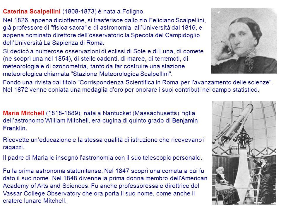 Caterina Scalpellini (1808-1873) è nata a Foligno.