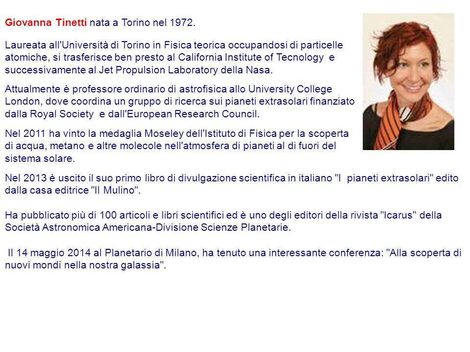 Giovanna Tinetti nata a Torino nel 1972.