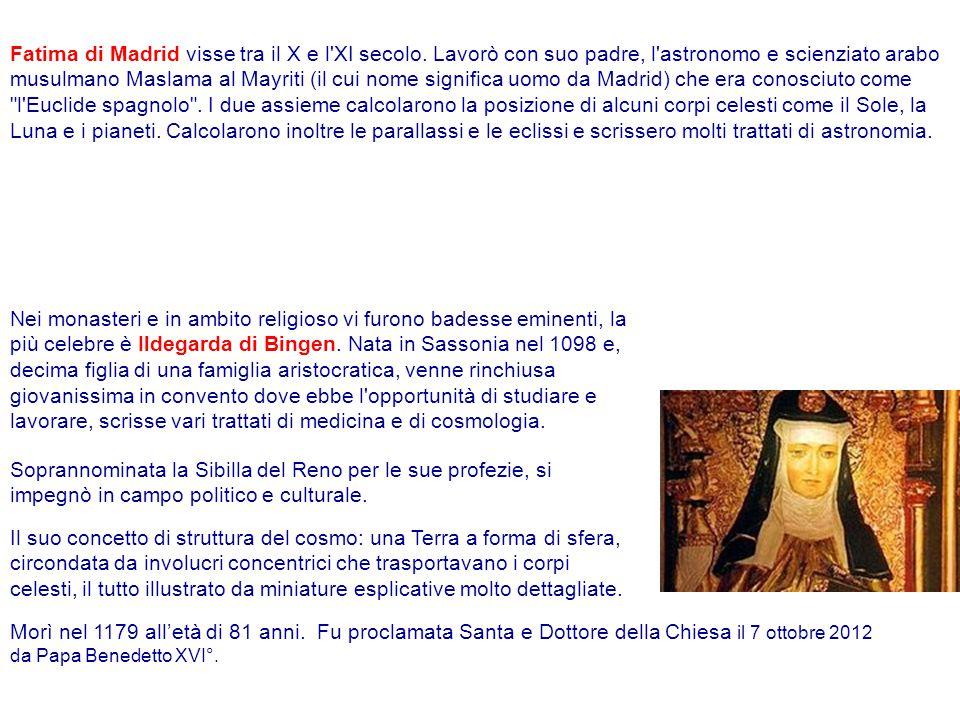 Fatima di Madrid visse tra il X e l XI secolo